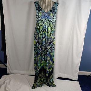 Apt. 9 Jeweled Sleeveless Maxi Dress Size Large